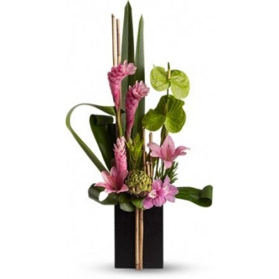 artistic-flowers-in-portland-or-and-lake-oswego-now-and-zen-flower-arrangement.